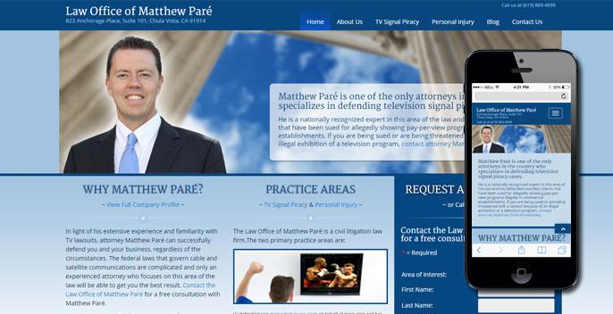 San Diego Web Design Company Client Portfolio | Ranta Consulting